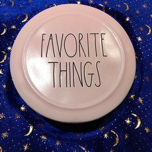 "Rae Dunn ""Favorite Things"" Ceramic Jewelry Box"